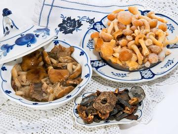 Як заготовити гриби на зиму