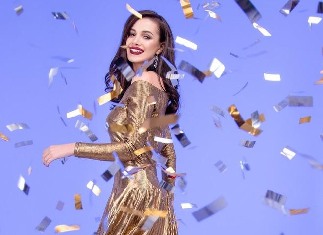 Платья на Новый год от украинских дизайнеров