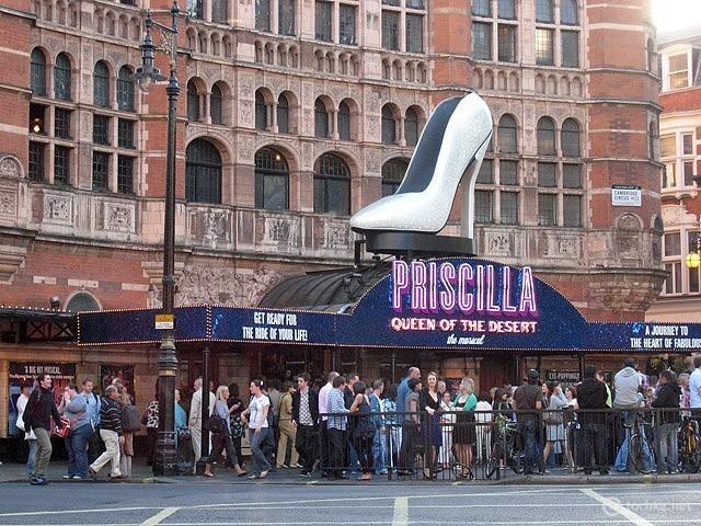 Лондон для любителей мюзиклов
