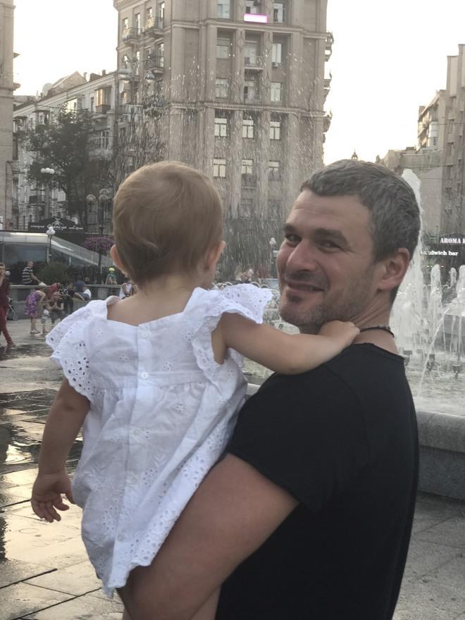 Арсен Мірзоян і Тоня Матвієнко (дочка)
