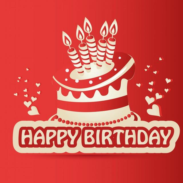 Красивая открытка с днем рождения