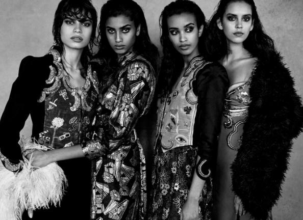 Зйомка Патріка Демаршельє для Vogue Italia