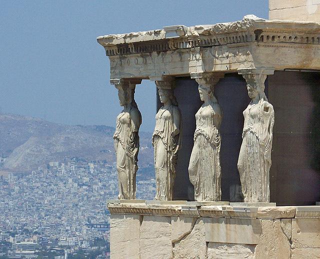 Достопримечательности Греции: Эрехтейон