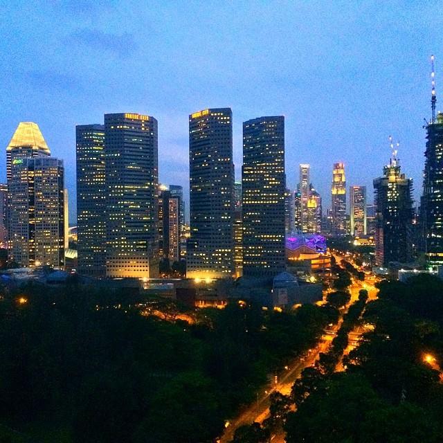 Достопримечательности Сингапура в Instagram