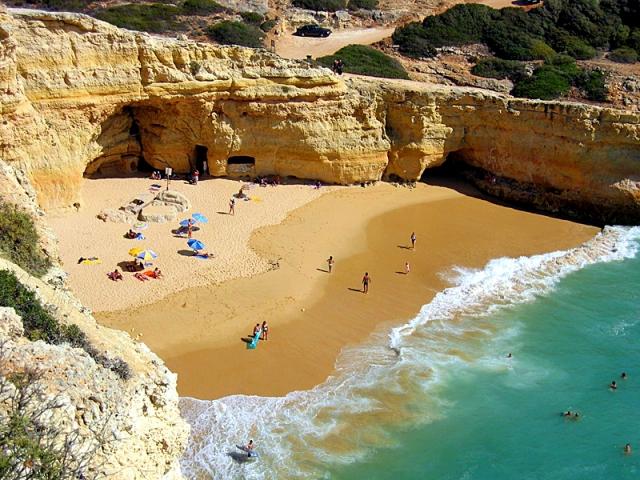 Пляжи Алгарве: Praia do Carvalho