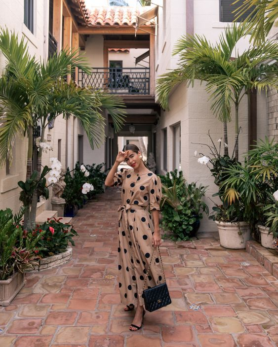 12 платьев в горошек, которые ты захочешь надеть этим летом