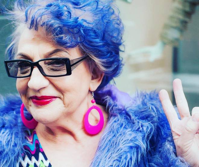 Степанида Цвіт - самая модная бабушка Украины