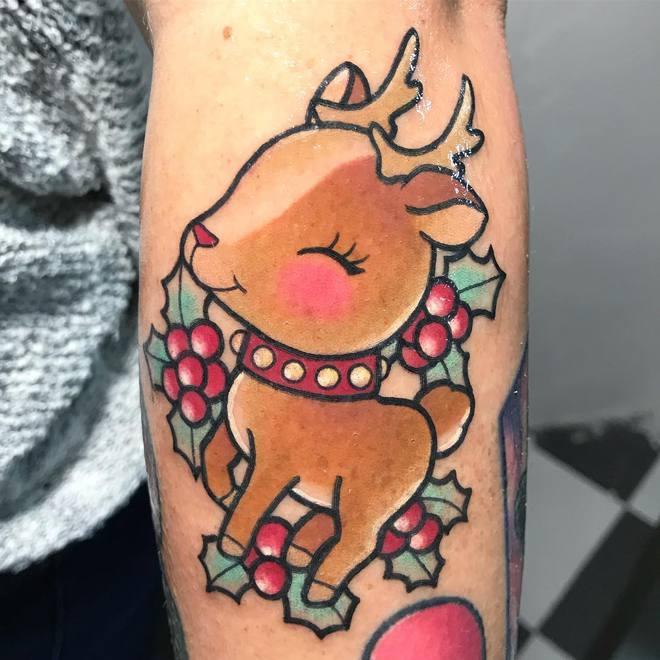 Мимимишные татуировки от tattoosbymeri