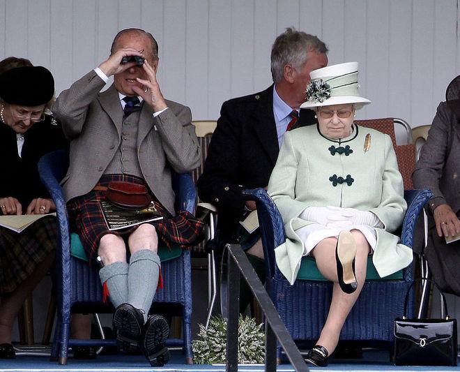 Принц Філіп та королева Елізавета