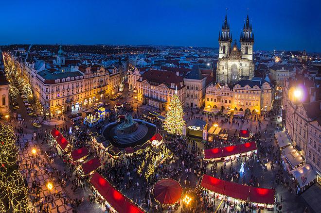 Різдвяний базар Прага