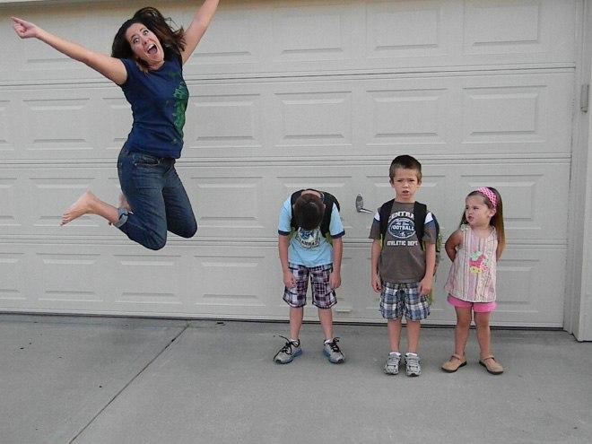 1 сентября - радостный день для родителей