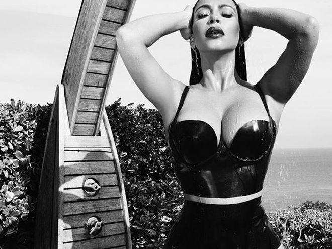 Kim kardashian playboy nudes pussy, asian threesome hottub