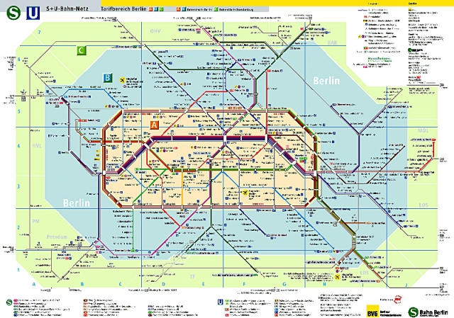 Самые запутанные метро мира: Берлин, Германия