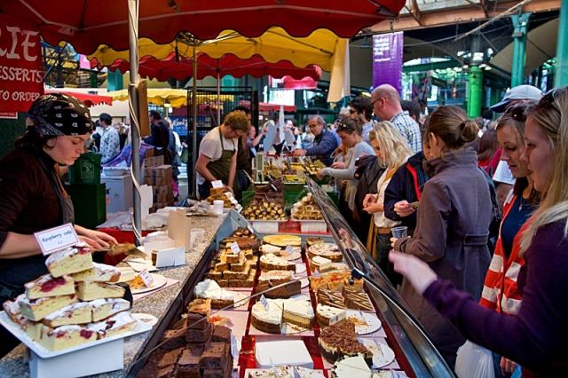 Достопримечательности Лондона: Borough Market