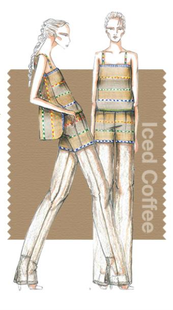 10 модних кольорів весни 2016