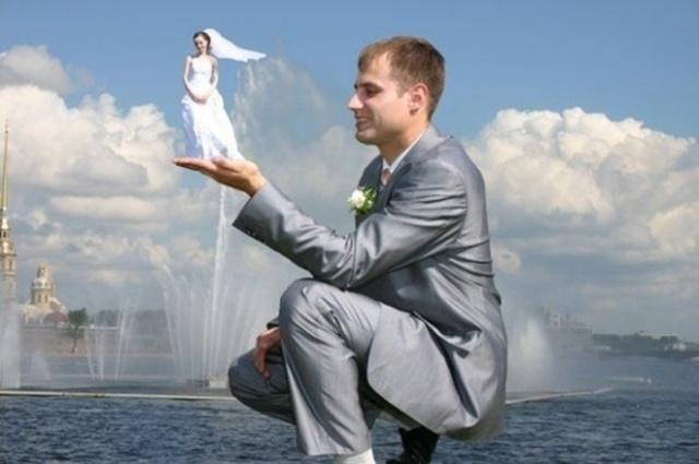 ТОП-треш свадебных снимков
