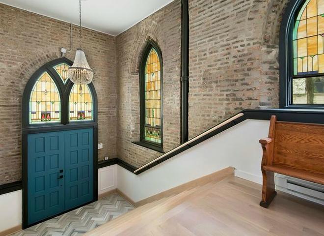 Дом в бывшей церкви в Чикаго