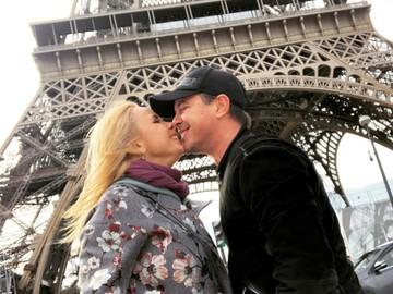 Лилия Ребрик с мужем отправились в романтическое путешествие в Париж