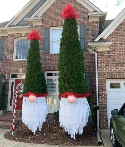Креативные и остроумные украшения для создания новогоднего настроения