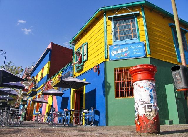 Разноцветные города мира:  Буэнос-Айрес, Аргентина