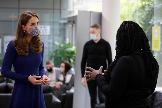 Кейт Миддлтон посетила благотворительную организацию