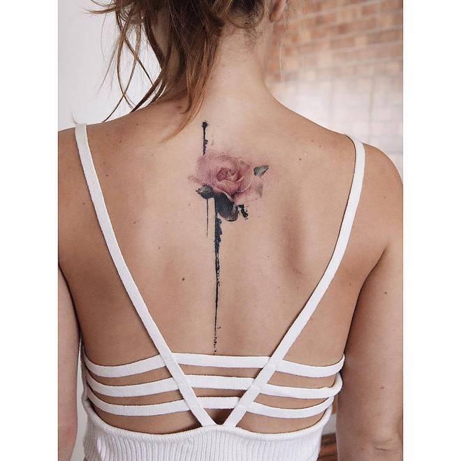 Цветочные татуировки от radtattoos