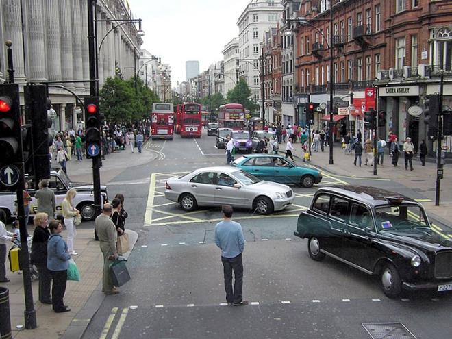 Достопримечательности Лондона: Оксфорд-Стрит