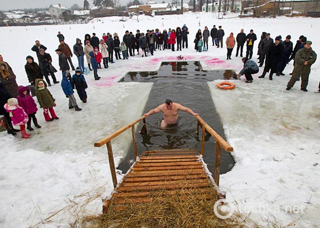 Где купаться на Крещение в Киеве