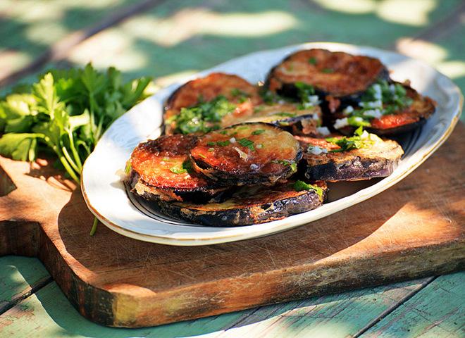 Блюда из баклажан, Консервированные баклажаны по-грузински