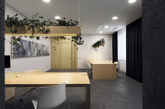 Чиновничий кабинет с демократичным дизайном