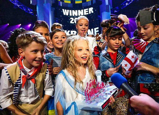 Настя Петрик перемогла на дитячому Євробаченні