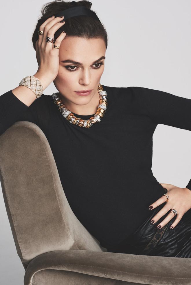 Кіра Найтлі стала обличчям ювелірної лінії Chanel