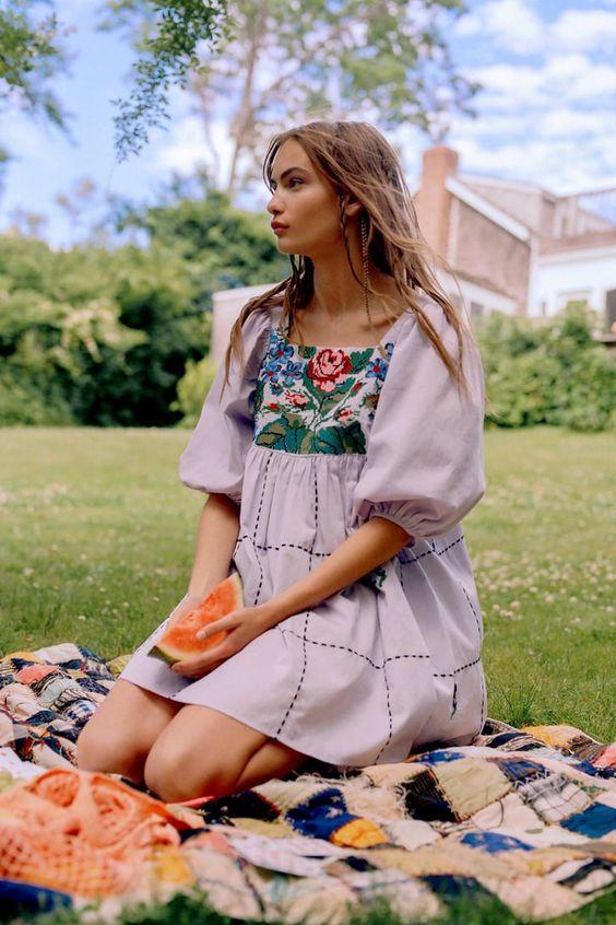 Тренды летних платьев