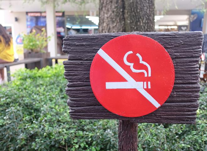 Сколько стоит курение в общественных местах в Черногории?