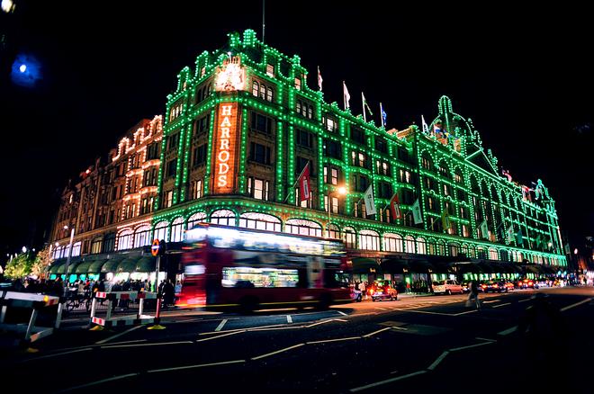 Рождественская иллюминация в городах: Лондон