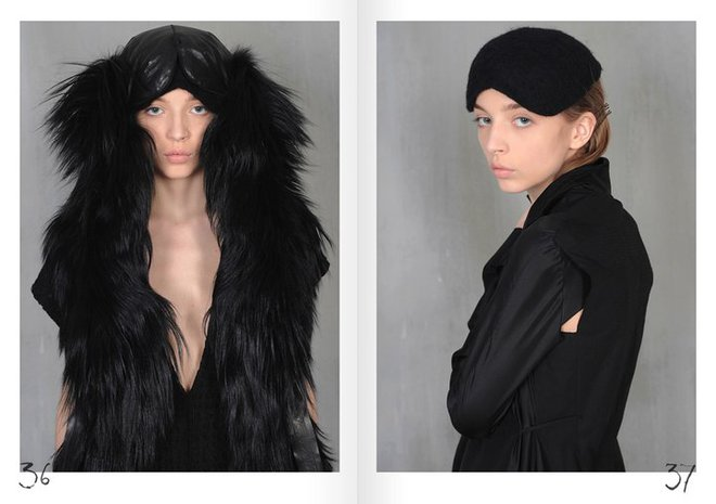 look book Litkovskaya AW 2011