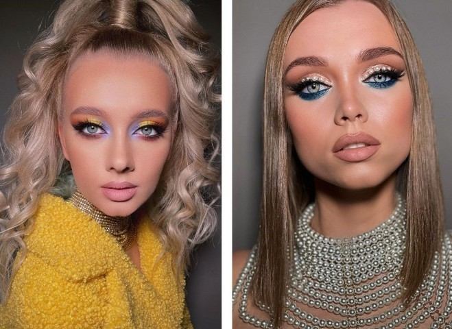 Модный smoky eyes на Новый год 2021