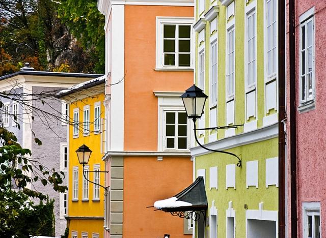 Різнокольорові міста світу: Зальцбург, Австрія