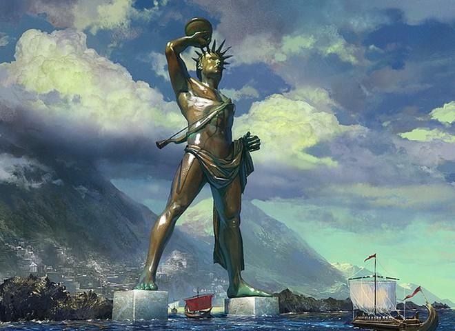 У Греції відтворять статую Колоса Родоського