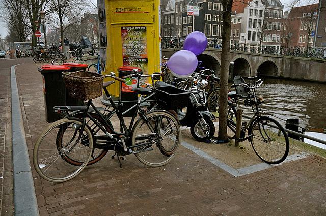 Где рай для велосипедистов: Амстердам