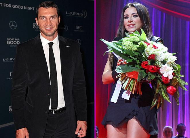 Ани Лорак и Владимир Кличко