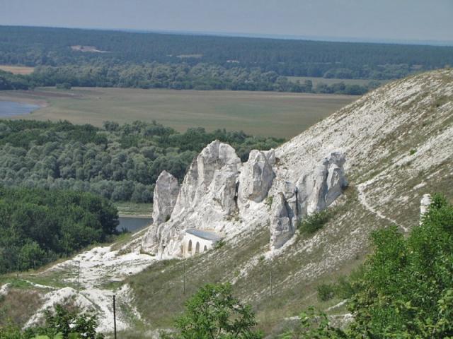 Монастыри в Воронежской области: Дивногорский Успенский монастырь