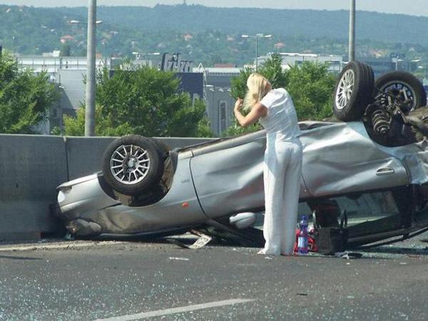 Осторожно!! За рулем ДАМА!
