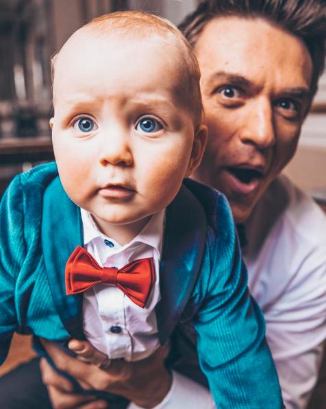 Влад Топалов и его сын Михаил