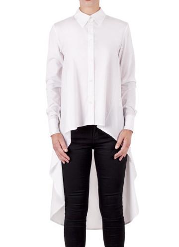 Белая рубашка Hush Brand, 1999 грн