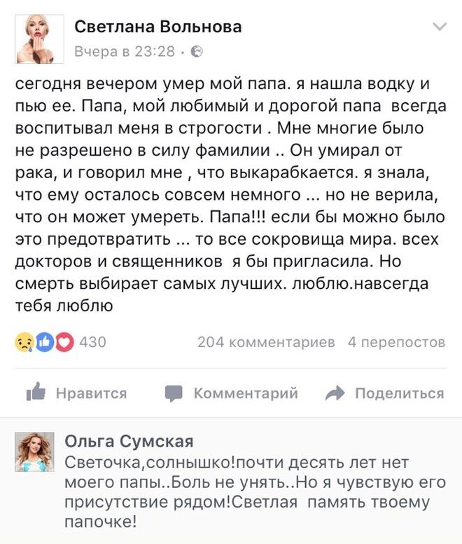 Світлана Вольнова