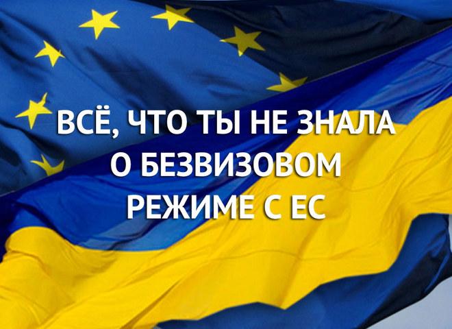 Все, що ти не знала про безвізовий режим України з ЄС