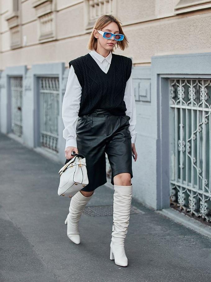 Носить навіть Джіджі: жилети повернулися на подіум і в вуличну моду