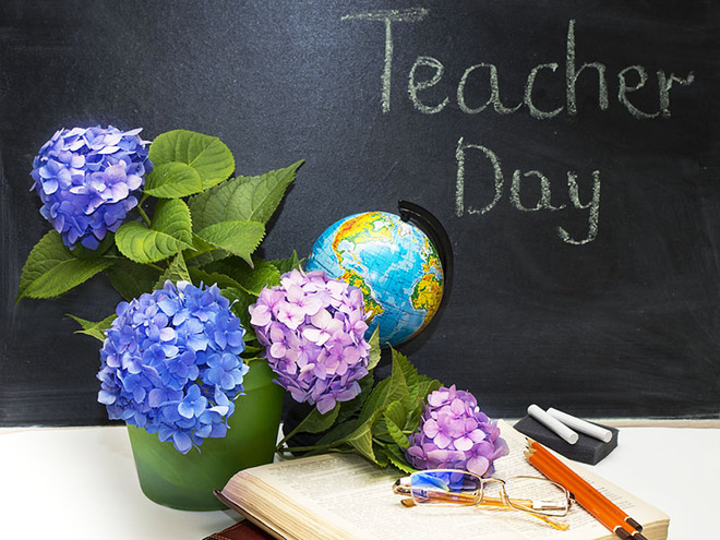 Официальные поздравления с Днем учителя