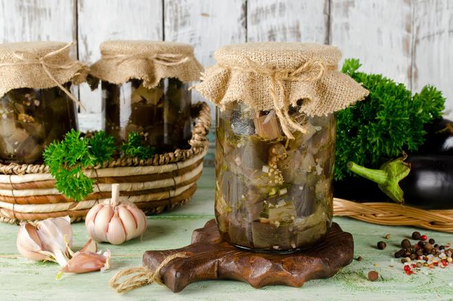 Квашеные баклажаны на зиму: пошаговый рецепт